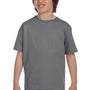 Gildan Youth DryBlend Moisture Wicking Short Sleeve Crewneck T-Shirt - Gravel Grey