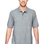 Gildan Mens Short Sleeve Polo Shirt - Sport Grey