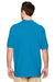 Gildan G828 Mens Short Sleeve Polo Shirt Sapphire Blue Back