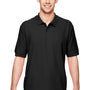 Gildan Mens Short Sleeve Polo Shirt - Black