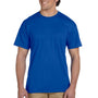 Gildan Mens DryBlend Moisture Wicking Short Sleeve Crewneck T-Shirt w/ Pocket - Royal Blue