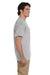 Gildan G830 Mens DryBlend Moisture Wicking Short Sleeve Crewneck T-Shirt w/ Pocket Sport Grey Side