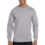 Gildan Mens DryBlend Moisture Wicking Long Sleeve Crewneck T-Shirt - Sport Grey
