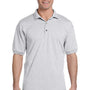 Gildan Mens DryBlend Moisture Wicking Short Sleeve Polo Shirt - Ash Grey