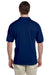 Gildan G880 Mens DryBlend Moisture Wicking Short Sleeve Polo Shirt Navy Blue Back