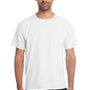 ComfortWash By Hanes Mens Short Sleeve Crewneck T-Shirt - White