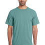 ComfortWash By Hanes Mens Short Sleeve Crewneck T-Shirt - Cypress Green