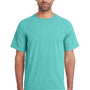ComfortWash By Hanes Mens Short Sleeve Crewneck T-Shirt - Mint Green
