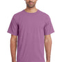 ComfortWash By Hanes Mens Short Sleeve Crewneck T-Shirt - Plum Purple