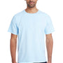 ComfortWash By Hanes Mens Short Sleeve Crewneck T-Shirt - Soothing Blue