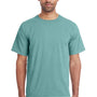 ComfortWash by Hanes Mens Short Sleeve Crewneck T-Shirt - Spanish Moss Green