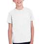 ComfortWash by Hanes Youth Short Sleeve Crewneck T-Shirt - White