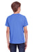 ComfortWash by Hanes GDH175 Youth Short Sleeve Crewneck T-Shirt Deep Forte Blue Back
