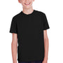 ComfortWash by Hanes Youth Short Sleeve Crewneck T-Shirt - Black