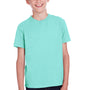 ComfortWash by Hanes Youth Short Sleeve Crewneck T-Shirt - Mint Green