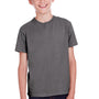 ComfortWash by Hanes Youth Short Sleeve Crewneck T-Shirt - Railroad Grey