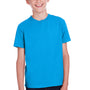 ComfortWash by Hanes Youth Short Sleeve Crewneck T-Shirt - Summer Sky Blue