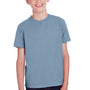 ComfortWash by Hanes Youth Short Sleeve Crewneck T-Shirt - Saltwater Blue