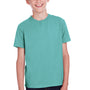 ComfortWash by Hanes Youth Short Sleeve Crewneck T-Shirt - Spanish Moss Green