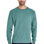 ComfortWash By Hanes Mens Long Sleeve Crewneck T-Shirt - Cypress Green