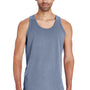 ComfortWash by Hanes Mens Tank Top - Saltwater Blue