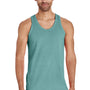 ComfortWash by Hanes Mens Tank Top - Spanish Moss Green