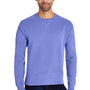 ComfortWash By Hanes Mens Crewneck Sweatshirt - Deep Forte Purple