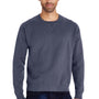 ComfortWash By Hanes Mens Crewneck Sweatshirt - Anchor Slate Blue