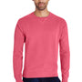 ComfortWash By Hanes Mens Crewneck Sweatshirt - Crimson Fall