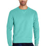 ComfortWash By Hanes Mens Crewneck Sweatshirt - Mint Green
