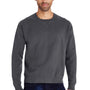 ComfortWash By Hanes Mens Crewneck Sweatshirt - Railroad Grey