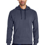 ComfortWash By Hanes Mens Hooded Sweatshirt Hoodie - Anchor Slate Blue