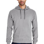 ComfortWash By Hanes Mens Hooded Sweatshirt Hoodie - Concrete Grey