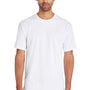 Gildan Mens Hammer Short Sleeve Crewneck T-Shirt - White