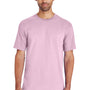Gildan Mens Hammer Short Sleeve Crewneck T-Shirt - Light Pink