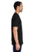 Gildan H000 Mens Hammer Short Sleeve Crewneck T-Shirt Black Side