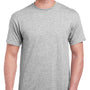 Gildan Mens Hammer Short Sleeve Crewneck T-Shirt - Sport Grey