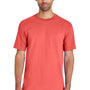 Gildan Mens Hammer Short Sleeve Crewneck T-Shirt - Bright Salmon