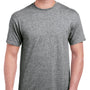 Gildan Mens Hammer Short Sleeve Crewneck T-Shirt - Heather Graphite Grey