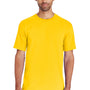 Gildan Mens Hammer Short Sleeve Crewneck T-Shirt - Daisy Yellow