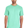 Gildan Mens Hammer Short Sleeve Crewneck T-Shirt - Island Reef Green