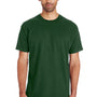 Gildan Mens Hammer Short Sleeve Crewneck T-Shirt - Sport Dark Green
