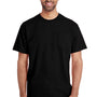 Gildan Mens Hammer Short Sleeve Crewneck T-Shirt w/ Pocket - Black