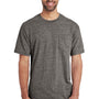 Gildan Mens Hammer Short Sleeve Crewneck T-Shirt w/ Pocket - Heather Graphite Grey