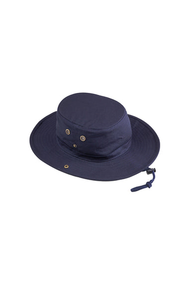 Big Accessories HCO Mens Outlander Bucket Hat Navy Blue Front