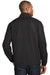 Port Authority J343 Mens Zephyr Wind & Water Resistant 1/4 Zip Jacket Black Back