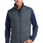 Port Authority Mens Wind & Water Resistant Full Zip Puffy Vest - Slate Grey