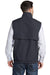 Port Authority J7490 Mens Charger Reversible Wind & Water Resistant Full Zip Vest Battleship Grey Back