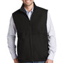 Port Authority Mens Charger Reversible Wind & Water Resistant Full Zip Vest - True Black
