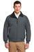 Port Authority J754 Mens Challenger Wind & Water Resistant Full Zip Jacket Steel Grey Front